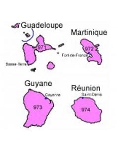 Fichier emails et adresses entreprises région DOM TOM