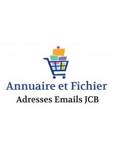 Fichier adresses emails entreprises du département 62